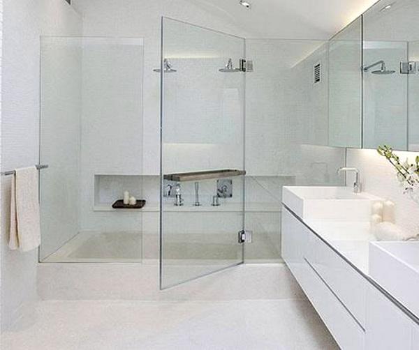 Top 3 phòng tắm kính được sử dụng nhiều nhất